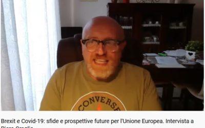 Brexit e Covid-19: sfide e prospettive future per l'Unione Europea. Intervista a Piero Graglia
